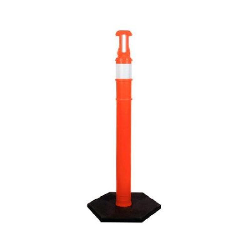 ISICLEAN - Poste Naranja de 1.20 m /Reflejante