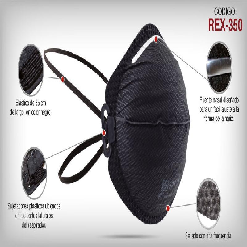 ISICLEAN - Respirador n95 C/ Carbon Activado