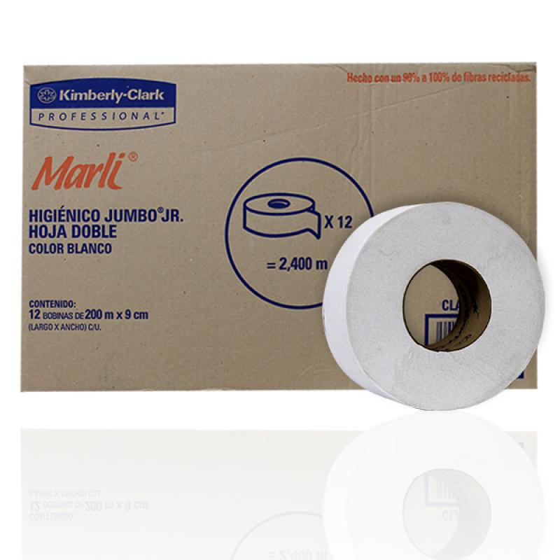 ISICLEAN - Papel higiénico bobina Marly