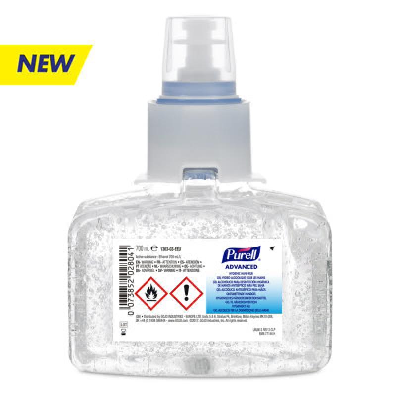 ISICLEAN - Gel Alcohol para Desinfección Higiénica de Manos 3/700 LT para dispensador PURELL LTX-7