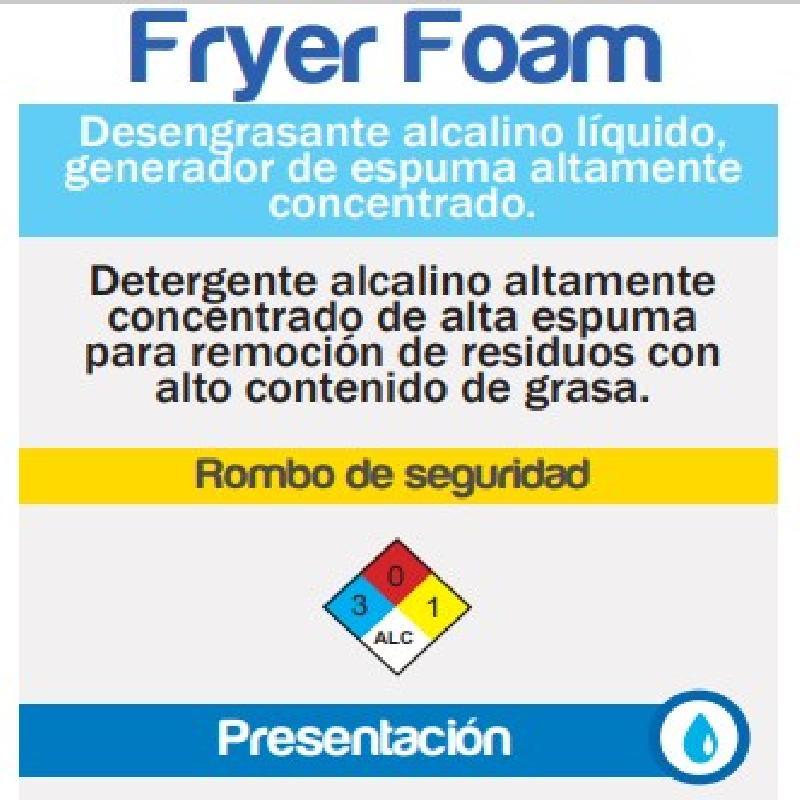 ISICLEAN - Detergente Alcalino En Espuma Fryer Foam