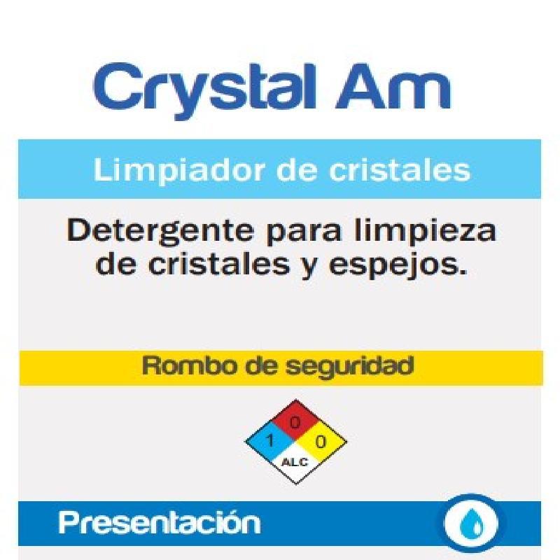 ISICLEAN - Limpiador P/Vidrios Crystal Am