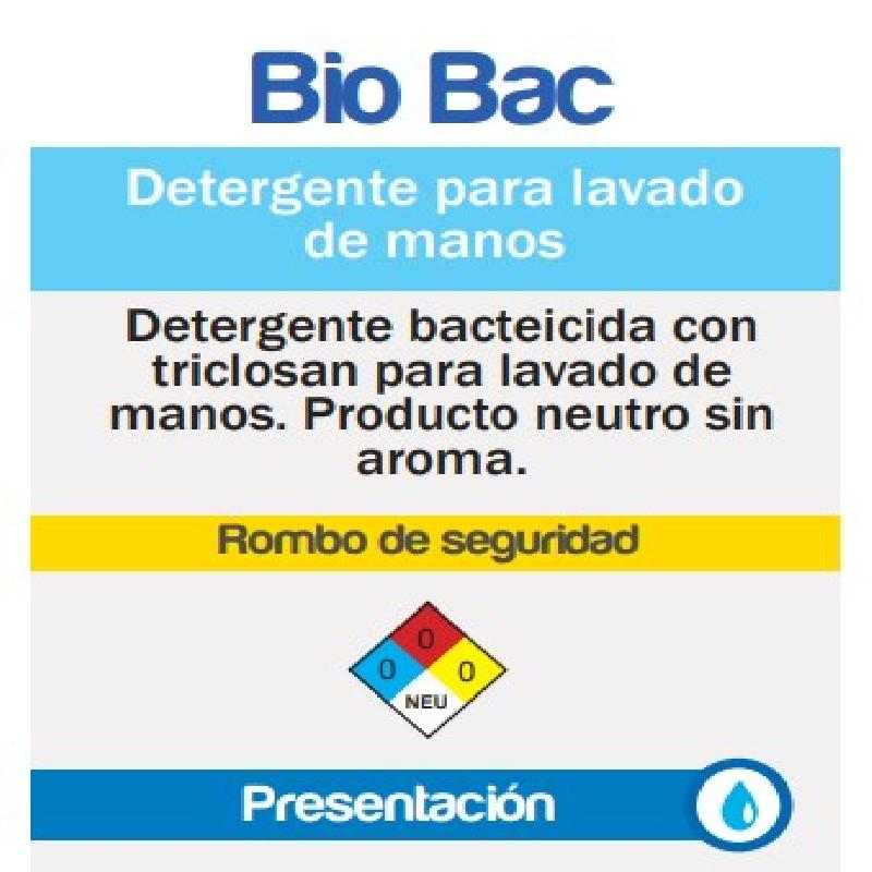 ISICLEAN - Shampoo Para Manos Anti-Bacterial Bio Bac
