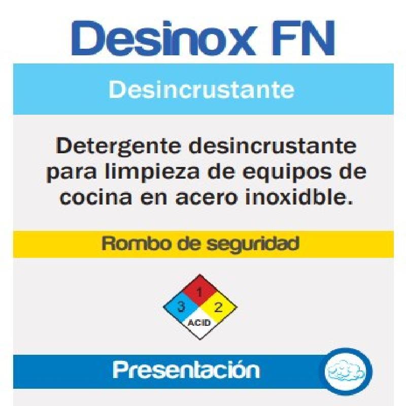 ISICLEAN - Detergente Acido Baja Espuma Desinox Fn