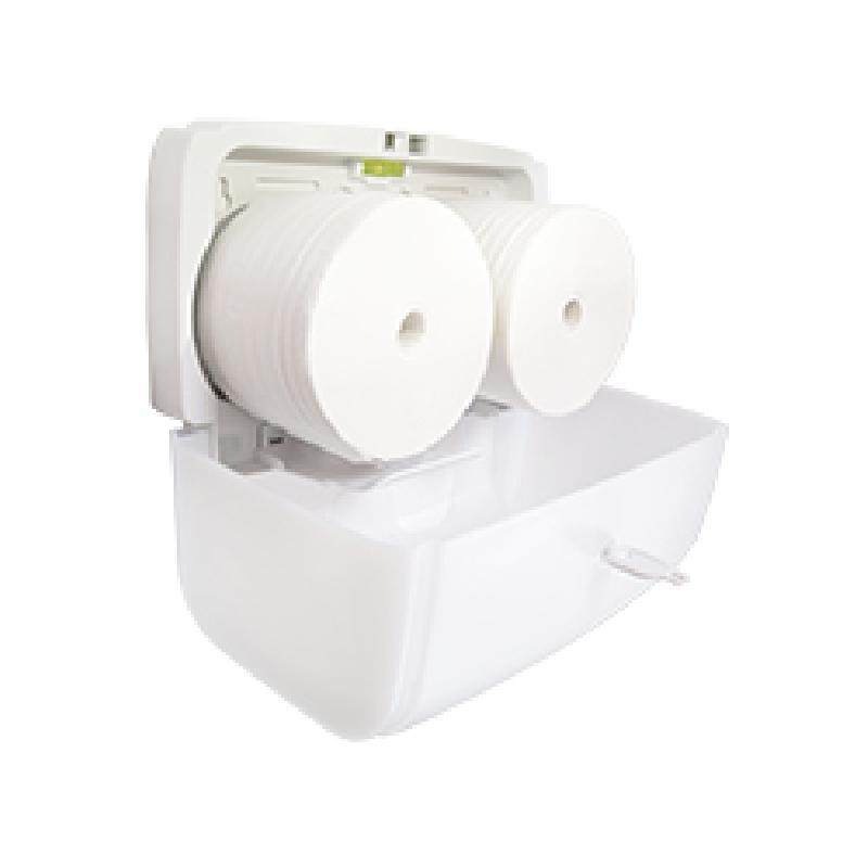 ISICLEAN - Despachador de higiénico TWIN sin centro