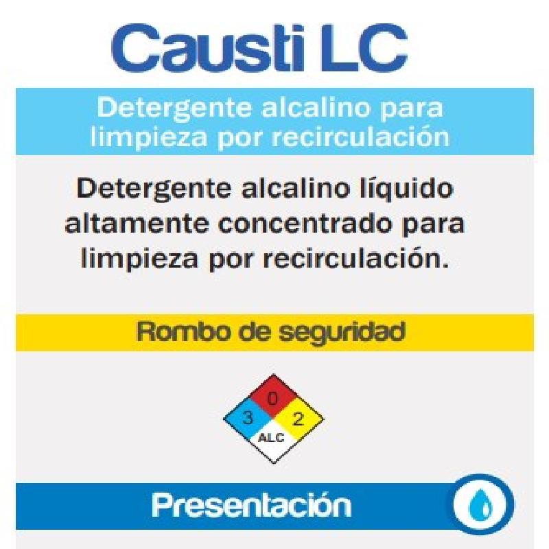 ISICLEAN - Detergente Alcalino Baja Espuma Causti Lc