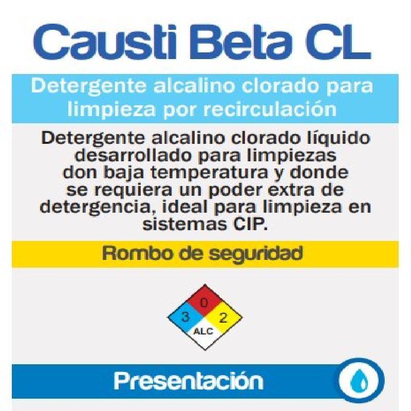 ISICLEAN - Detergente  Alcalino Clorado Baja Espuma Causti Cl
