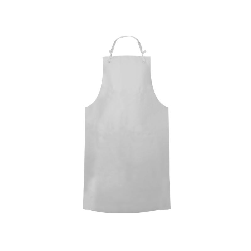 ISICLEAN - Mandil de PVC Blanco 0.20 mm