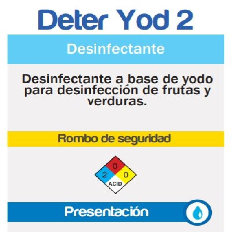 ISICLEAN - Desinfectante Germicida Liquido Deter Yod Sp